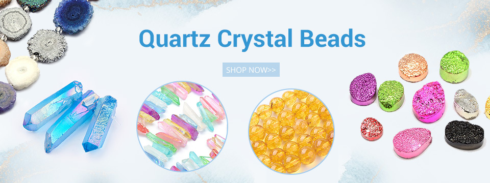 Quartz Crystal Beads