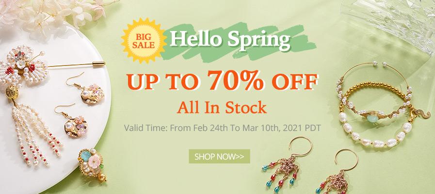 Spring Promotion 70% Off