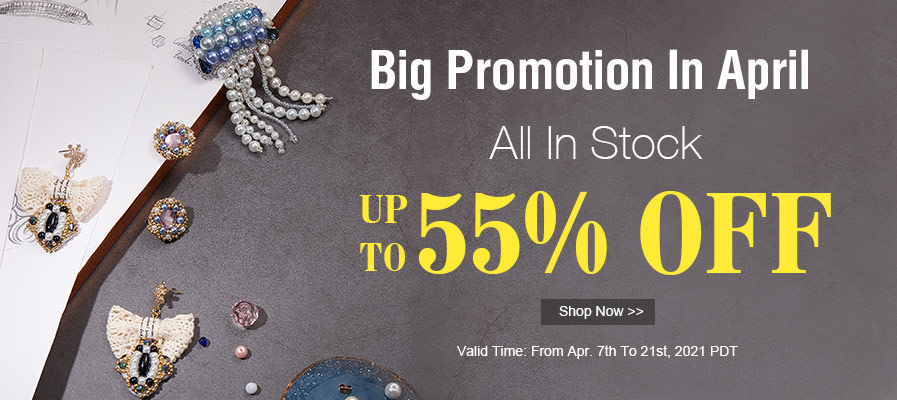 April Promotion Up To 55% Off