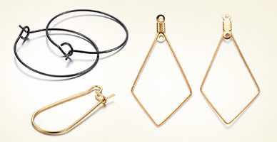 Hoop Earring Findings