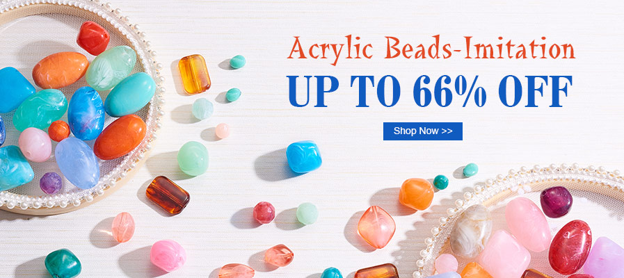 Acrylic Beads-Imitation Up To 35% OFF