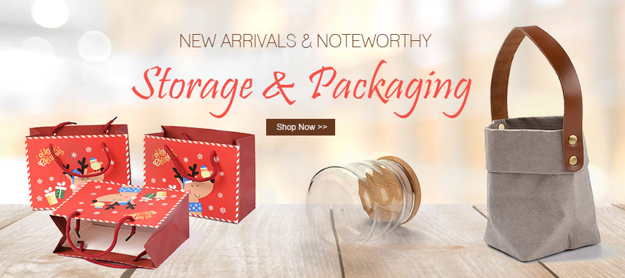 New Arrivals Storage Packaging