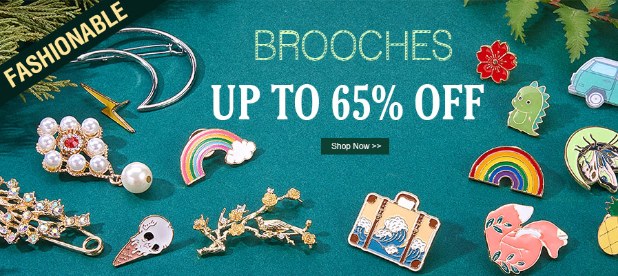Brooches UP TO 65% OFF
