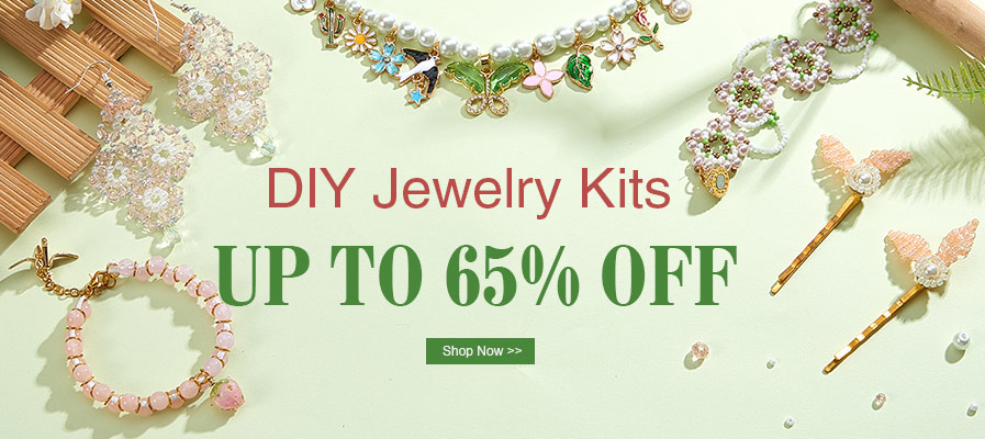DIY Jewelry Kits UP TO 65% OFF