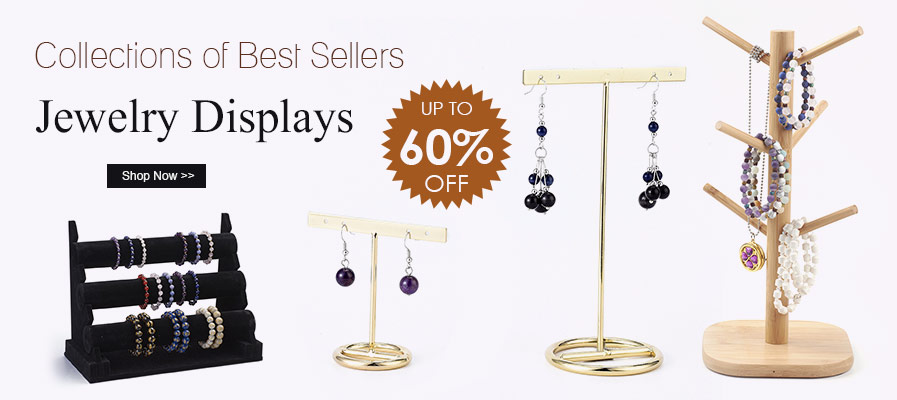 Collections of Best Sellers Jewelry Displays