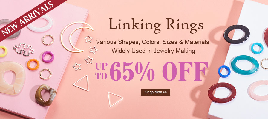 New Arrivals Linking Rings