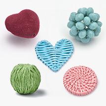 Fabric & Woven Beads