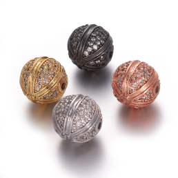Cubic Zirconia Beads