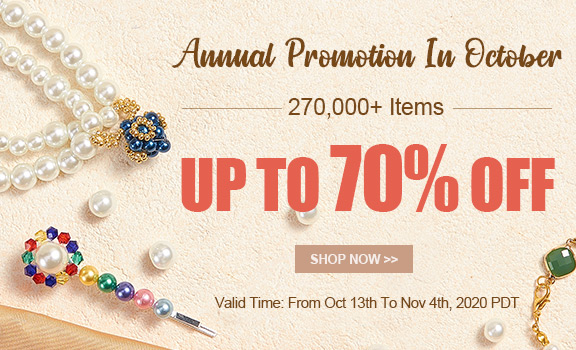 Annual Promotion In October Up To 70% OFF
