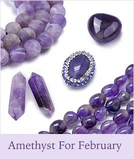 Amethyst For February