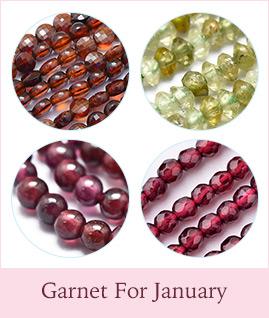 Garnet For January