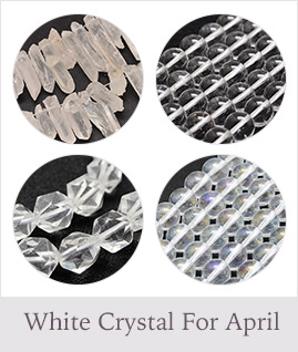 White Crystal For April