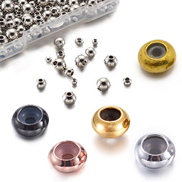 Brass Stopper Beads