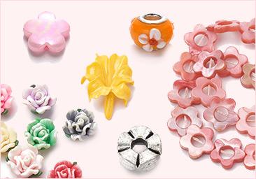 Flower Jewelry Beads