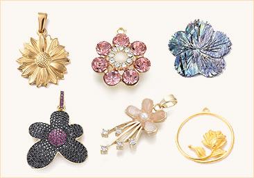 Flower Jewelry Findings