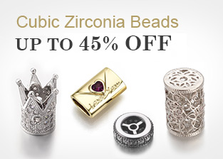 Cubic Zirconia Beads Up To 45% OFF