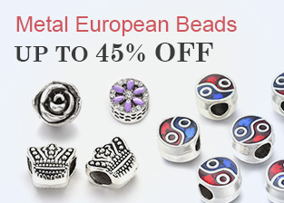 Metal European Beads Up To 45% OFF