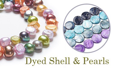 Dyed Shell & Pearls