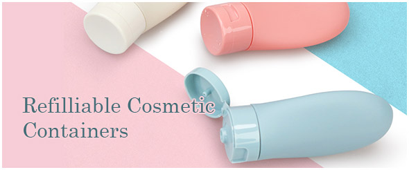Refilliable Cosmetic Containers