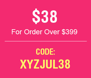 $38 For Order Over $399