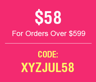 $58 For Order Over $599