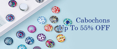 Cabochons Up To 55% OFF