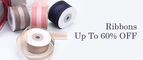 Ribbons Up To 60% OFF