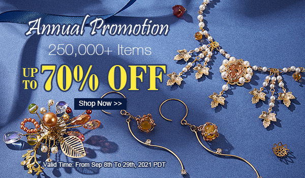 Annual Promotion Up To 70% OFF 250,000+ Items