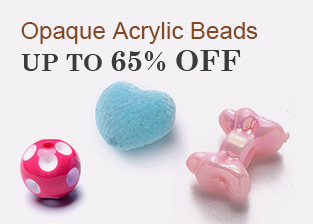 Opaque Acrylic Beads Up To 65% OFF