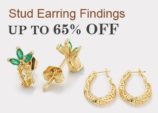Stud Earring Findings Up To 65% OFF